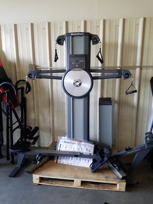 Nordictrack Fusion CST Home Gym With Rower for Sale in Fontana, CA