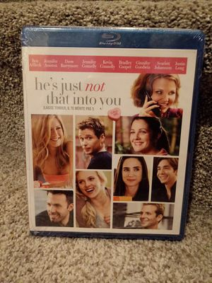 He's just not that into you Bluray for Sale in Murrieta, CA