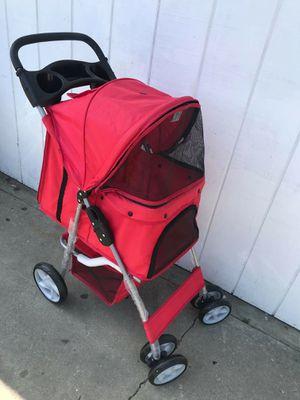 Dog stroller red for Sale in Torrance, CA
