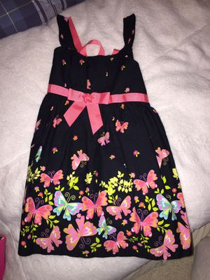 Baby girl spring flower butterfly dress black 18 months for Sale in Newtown Square, PA