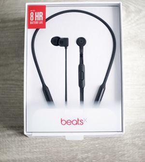 Beats by Dr. Dre BeatsX Black Wireless In Ear Headphones for Sale in Los Angeles, CA