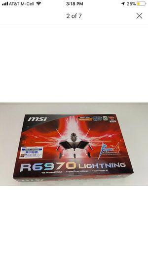 MSI AMD Radeon HD 6970 (R6970 LIGHTNING) 2GB for Sale in Henderson, TX