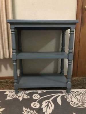 Small blue shelf for Sale in Tacoma, WA