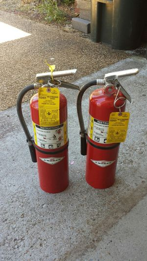 10# fire extinguishers $20 each for Sale in Florence, MS