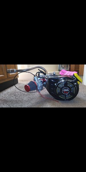 Lifin 212cc 7.1 hp mini bike motor. Brand new never had oil in it! (26mm carb) brand new, brand new muffler also for Sale in Romulus, MI