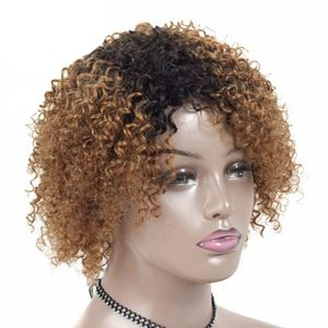 Ombre human hair curly wig for Sale in Brooklyn, NY