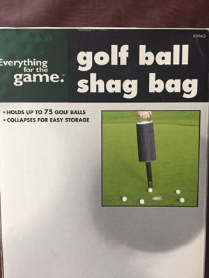 Golf ball shag bag collapsible for Sale in Woodbine, MD
