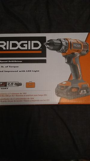 Ridgid power tools 18v cordless for Sale in Canby, OR