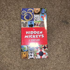 The Hidden Mickey Book Of Disneyland for Sale in Temecula, CA