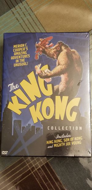 The King Kong DVD Collection for Sale in Los Angeles, CA