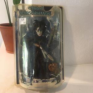 NIB 2005 Edward Scissorhands & Dog Figure Mezco for Sale in Rancho Cordova, CA
