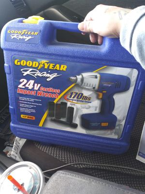 Goodyear Racing 24v impact for Sale in Sacramento, CA