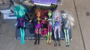 monster high dolls for Sale in Los Angeles, CA