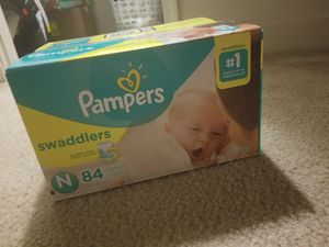 Newborn Pampers Swaddles (84) for Sale in Fairfax, VA