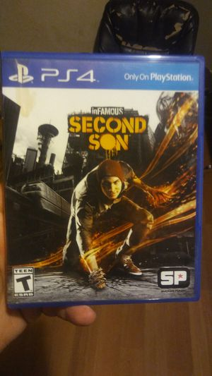 Infamous second son ps4 for Sale in Dallas, TX