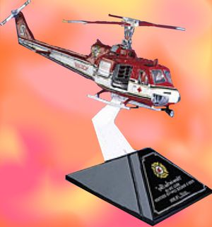Used, Rare Uh-1B Huey helicopter 1:48 Franklin Mint Fire & Rescue for Sale for sale  Las Vegas, NV