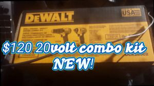 Brand new Dewalt combo kit for Sale in Vancouver, WA