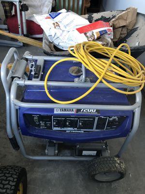Generator - Yamaha 7200 Industrial Series for Sale in Belgrade, MT