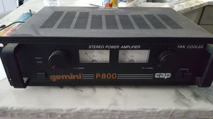 Gemini amplifier and mixer for Sale in Tuckahoe, NY