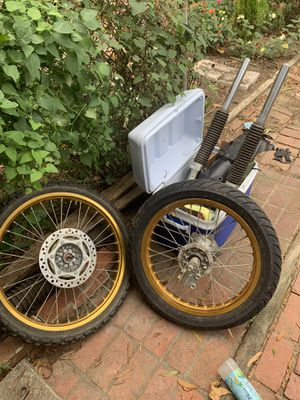 Kawasaki dirt bike super motor wheel front wheel for Sale in NO BRENTWOOD, MD