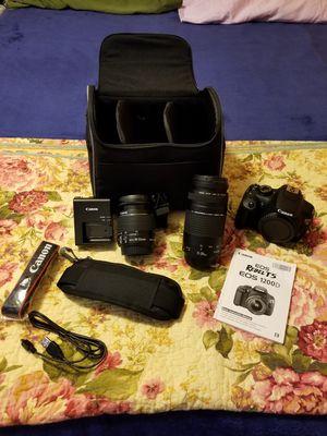 Canon Rebel T5 EOS for Sale in Newark, CA