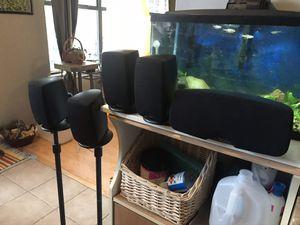 Klipsch Quintet III Home Theater 5 Piece Surround Sound Speaker System for Sale in Lewisville, TX
