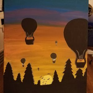 Hot air balloon painting for Sale in Cleveland, OH