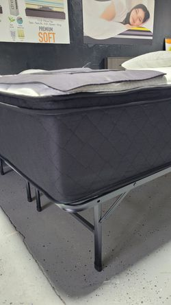 Mattress Clearance Sale! Super Thick Firm Eurotop Available In Twin Full Queen King and Cali King Size Comfy Bed ❗PLEASE READ DESCRIPTION ❗ for Sale in Santee,  CA