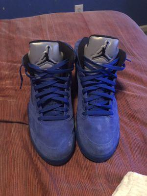 Jordan retro 5s Royal Blue for Sale in Lithonia, GA
