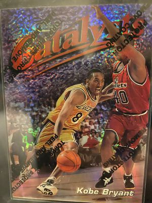 1997-98 Topps Finest Kobe Bryant Catalyst Refractor for Sale in Chino Hills, CA