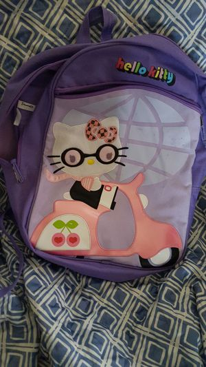 Medium sized hello kitty book bag for Sale in Pittsburgh, PA