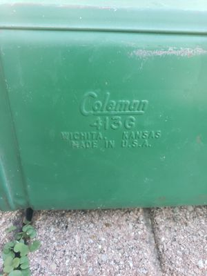 Coleman 413G camp stove made June 1973 for Sale in Benbrook, TX