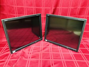 """2-NEC AccuSync AS191 19"""" LED LCD Widescreen Monitors for Sale in Las Vegas, NV"""
