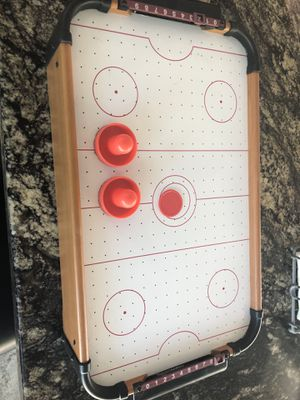 Table Top air hockey game for Sale in Summerfield, FL