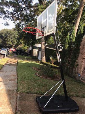 Spalding Basketball Hoop 7.5-10 for Sale in Houston, TX
