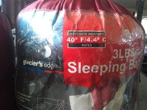 Glaciers Edge 3lb sleeping bags! for Sale in Sandy, OR