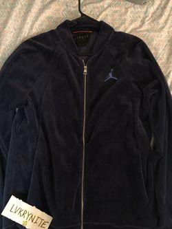 Jordan Brand Midnight Blue Velour Jacket for Sale in Las Vegas,  NV