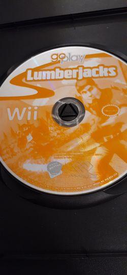 Go Play LUMBERJACKS (Nintendo Wii + Wii U) for Sale in Lewisville,  TX