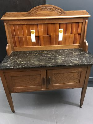 Marble top console antique for Sale in Portland, OR