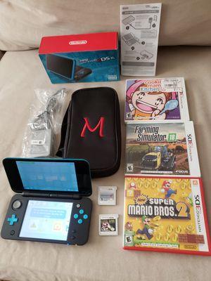 Nintendo 2ds XL with 5 ganes Brand new for Sale in Harrisonburg, VA