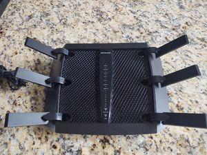 Netgear Nighthawk X6 Wireless Router for Sale in Katy, TX