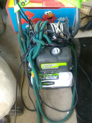 Pressure washer 2000psi for Sale in Philadelphia, PA