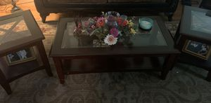 Coffee table and 2 end tables! for Sale in Lithonia, GA