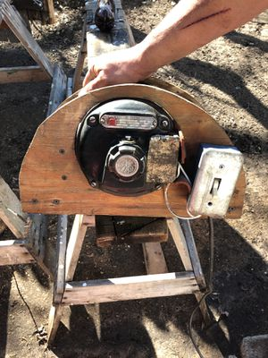 Ac motor G.E long hour duty 2.8 amps 1/8 hours power 110 volts for Sale in Eau Claire, WI