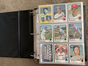 1973 Topps Baseball Card Set In Binder 606/660 Beautiful Set for Sale in Brea, CA