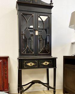 "Antique Empire Cabinet/ hutch/ bookcase W 42"" x D 18"" x H 85"" for Sale in Punta Gorda,  FL"