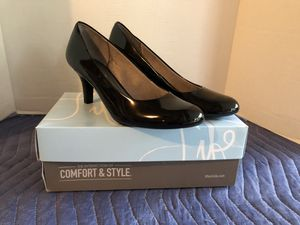 Life Stride Black Patent Heels Brand New Size 8 M for Sale in Manassas, VA