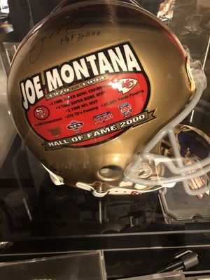 Joe Montana full size signed HOF helmet for Sale in Clearwater, FL
