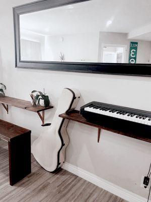 Floating Shelf / Desk / Keyboard stand for Sale in Los Angeles, CA