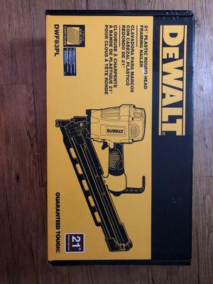 Dewalt Air nail gun for Sale in Houston, TX